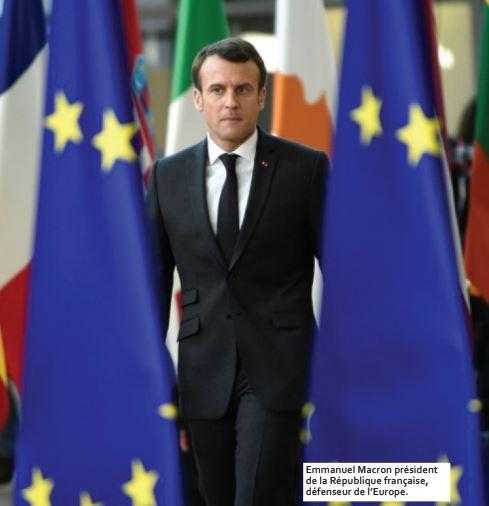 Emmanuel Macro président de la république